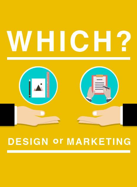 デザイン力とマーケティング重要なのはどっち?